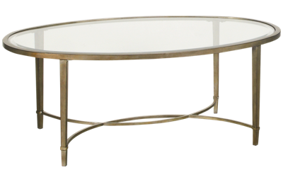 Magnussen Copia Oval Cocktail Table