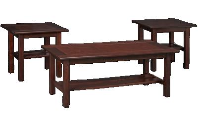 Ashley Lewis 3 Piece Table Set