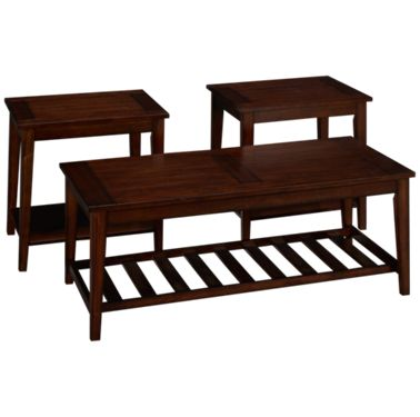 Liberty Furniture Missoula Tail And 2 End Tables Product Image Unavailable