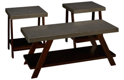 Ashley Bellenteen 3 Pack Cocktail Table and 2