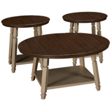 Ashley Bolanbrook Cocktail Table and 2 End Tables