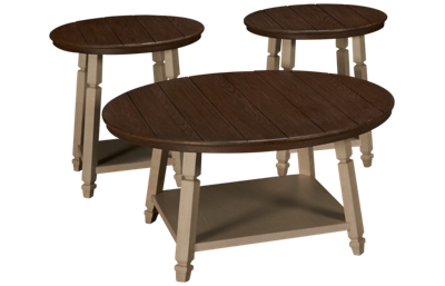 Ashley Bolanbrook 3 Piece Table Set