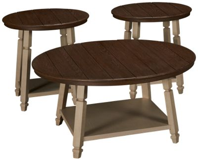 Ashley Bolanbrook Cocktail Table And 2 End Tables. Product Image. Product  Image Unavailable