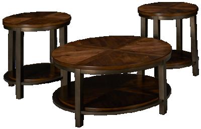 Ashley Roybeck 3 Piece Table Set