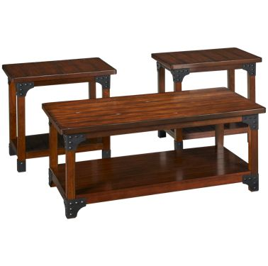 Ashley Murphy Cocktail Table And 2 End Tables
