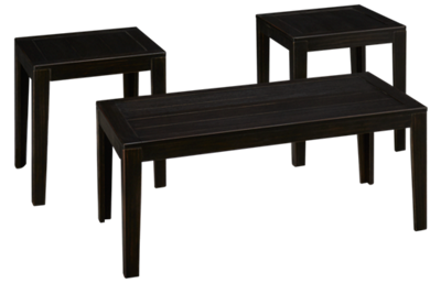 Ashley Birstrom 3 Pack Cocktail Table and 2