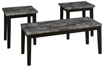 Ashley  Maysville 3 Piece Table Set