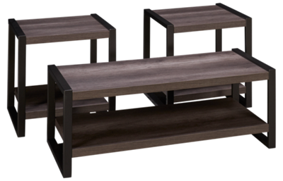 Liberty Furniture Tanners Creek 3 Piece Table Set