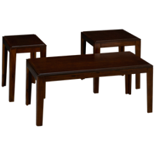United Troy 3 Pack Cocktail Table and 2 End Tables
