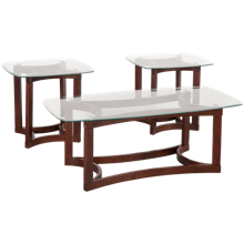 Jofran Cocktail Table and 2 End Tables
