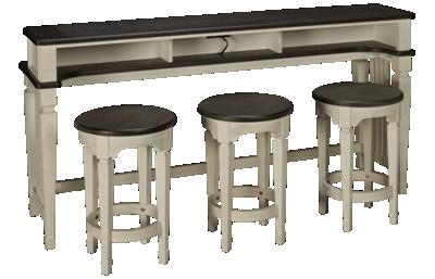 Liberty Furniture Allyson Park Console Table 4 Piece Set