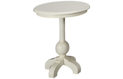 Trade Winds White Soho Side Table
