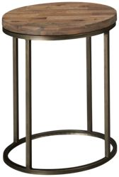 Casana Julien Wooden Top Round End Table
