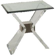 Bassett Mirror  Silven End Table