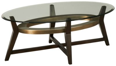 Bassett Mirror Elston Bassett Mirror Elston Oval Glass Cocktail Table    Jordanu0027s Furniture