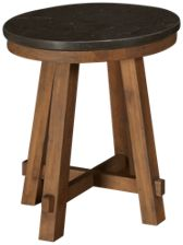Riverside Weatherford Round End Table