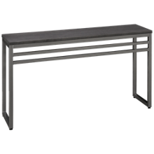 Amisco Crawford Rectangular Console Table