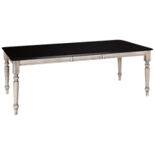 "Canadel Ebony Cloud Dining Table With 20"" Leaf"