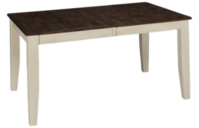 Intercon Kona Gray Table with Leaf