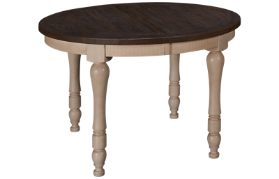 Jofran Madison County Dining Table with Leaf