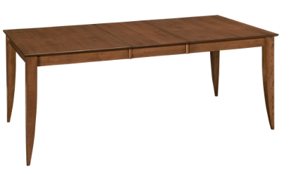 Saloom Flax Dining Table with Leaf