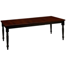 "Canadel Thick Top Rectangular Table with 20"" Leaf"