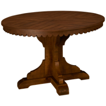 Magnolia Home Top Tier Pedestal Table