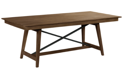 "Kincaid The Nook 80"" Trestle Table"