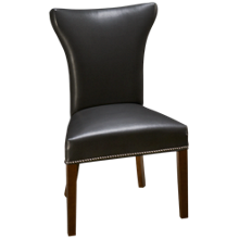 Container Marketing Avanti Upholstered Side Chair with Nailheads