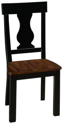Crown Mark Astor Wood Seat Side Chair