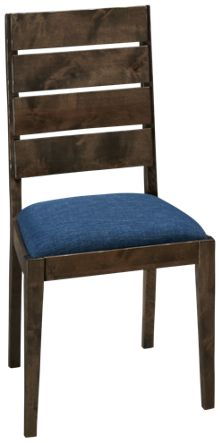Canadel Loft Side Chair with Upholstered Seat
