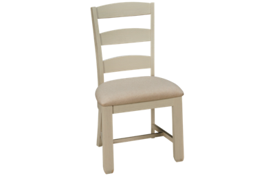 Jofran Dana Point Upholstered Ladderback Side Chair