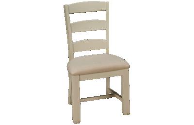 Jofran Dana Point Upholstered Ladderback Side Chair