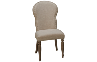 Klaussner Home Furnishings Nashville Upholstered Side Chair