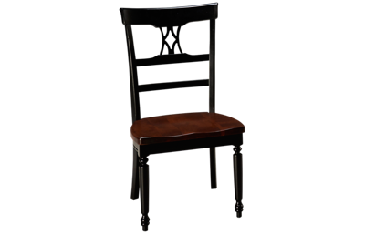 Canadel Thick Top Side Chair