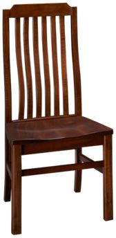 Vaughan-Bassett Simply Dining Vertical Slat Side Chair