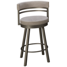 Amisco Ronny Swivel Counter Stool
