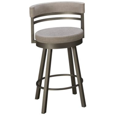 the latest 2214a a511c Amisco Ronny Swivel Counter Stool