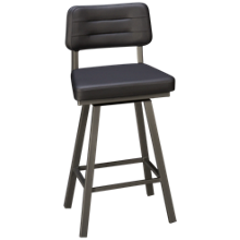 Amisco Phoebe Swivel Counter Stool