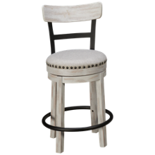 "Ashley Valebeck 24"" Swivel Counter Stool"