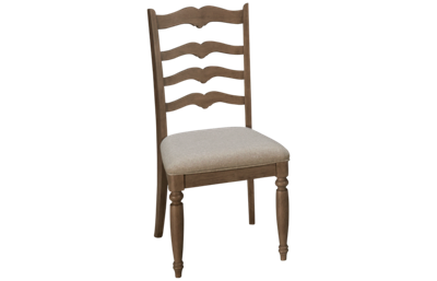 Klaussner Home Furnishings Nashville Ladderback Side Chair