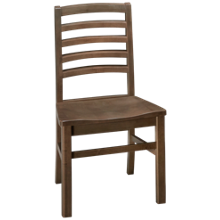 Vaughan-Bassett Simply Dining Horizontal Slat Side Chair