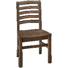 Vaughan-Bassett Simply Dining Horizontal Slat Side Chair