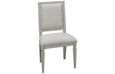 Universal Summer Hill Gray Woven Accent Side Chair