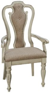 Liberty Furniture Magnolia Manor Splat Back Arm Chair
