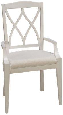 Riverside Myra X-Back Arm Chair
