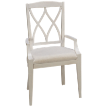Riverside Myra X-Back Arm Chair