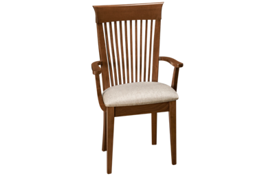 Saloom Flax Upholstered Arm Chair