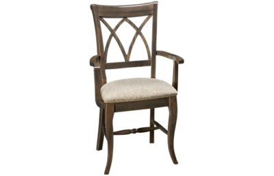 Saloom Euro Upholstered Arm Chair