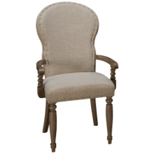 Klaussner Home Furnishings Nashville Upholstered Arm Chair